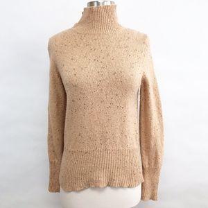 anthropologie | moth button turtleneck sweater M